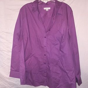 NWT Cold water Creek Size 2x Button Down Shirt